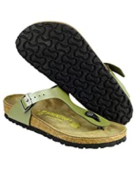 Birkenstock Women's Leather Gizeh Sandals Slip