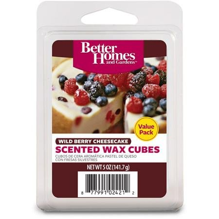 Wild Berry Cheesecake Better Homes and Gardens Wax Cubes Value Pack (12 Wax Cubes) (Better Home And Garden Wax Cubes compare prices)