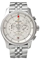 Breitling Bentley Mark VI Silver Dial Steel Mens Watch P2636212-G611SS from Breitling