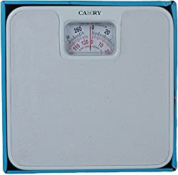MCP Camry Analog Manual Weighing Scale- 120kg, White