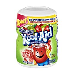 Cool Aid Drink Mix Strawberry & Kiwi, 538g