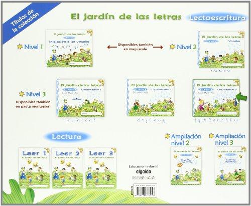 El jard n de las letras lectoescritura consonantes 3 for El jardin de las letras