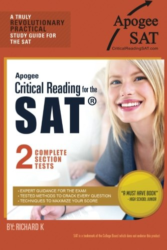 Apogee Critical Reading for the SAT PDF