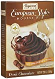 Inspired Cuisine Mousse Mix, Dark Chocolate, 2.8-Ounce Boxes (Pack of 8)
