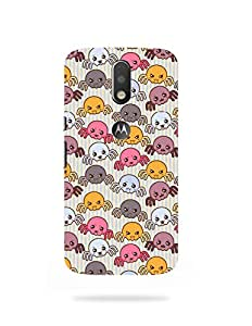 alDivo Premium Quality Printed Mobile Back Cover For Moto G4 Plus / Moto G4 Plus Back Case Cover (KT045)