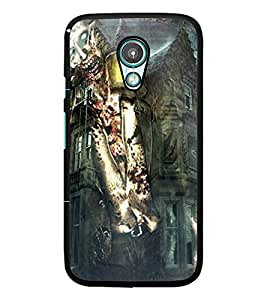 PrintDhaba Abstract Image D-4885 Back Case Cover for MOTOROLA MOTO G2 (Multi-Coloured)