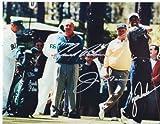 Jack Nicklaus & Arnold Palmer & Tiger Woods Golfing Legends 8 X 10 Reprint Photo - Beautiful !