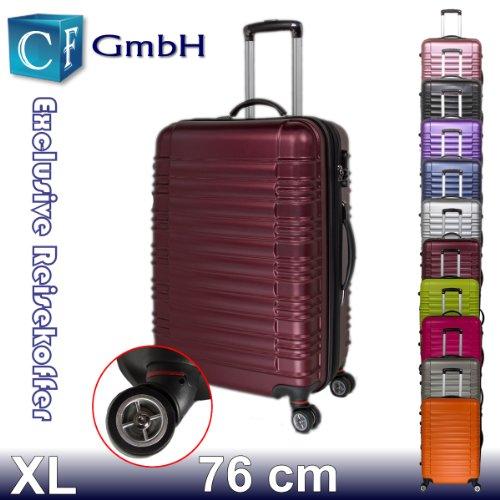 LG2088 Weinrot in Größe XL Koffer Reisekoffer