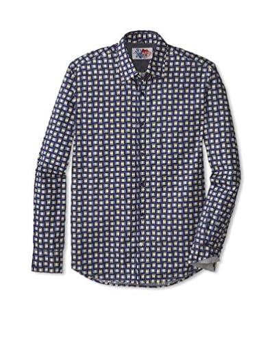 Desigual Men's Checked Long Sleeve Shirt