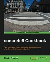 concrete5 Cookbook Front Cover