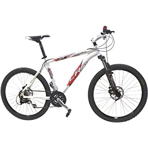 Carnielli CRN 2000 Disk Mens Mountain Bike - White, 17 Inch