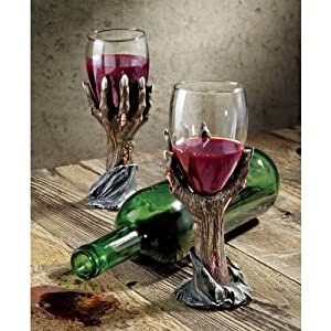 Design Toscano Toast of the Zombie Sculptural Goblet (Discontinued by Manufacturer)