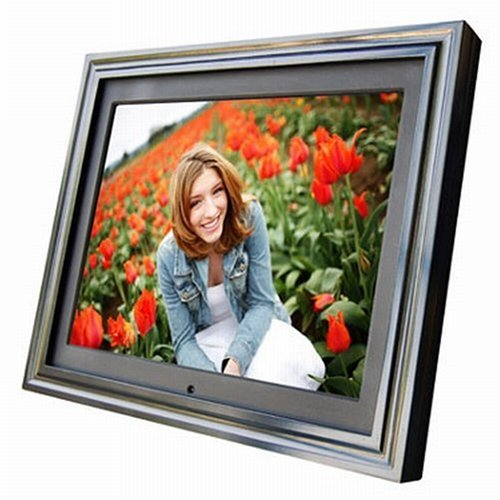Digital Spectrum MemoryFRAME MF-8115 Premium 15-Inch Wireless Digital Frame - Photo, Video and MP3 Player