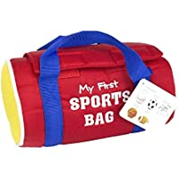 Maven Gifts Baby And Toddler Learn And Play Bundle - My First Sports Bag Playset With First 100 Words Board Book...