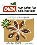 Badia Tea Star Anise 10-Count