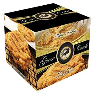 Goose Creek 7-Ounce Butter Cookie Ceramic Candle with Box