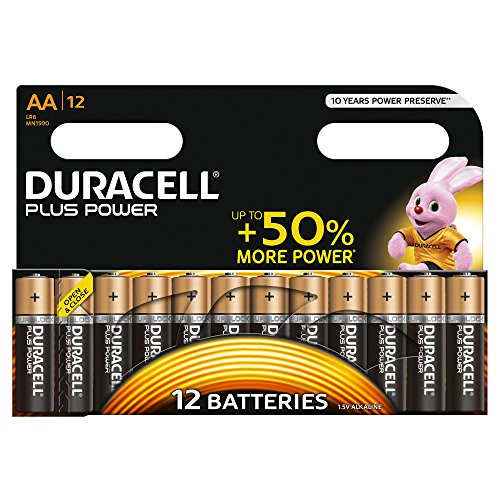 Duracell Plus Power, 12 Pezzi