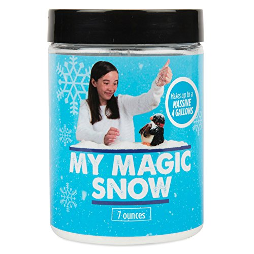 My Magic Snow Powder (4 Gallons) -Create Instant (Fake / Artificial) Snow In Seconds. Great For Professional Magicians, Party Tricks & Props | Perfect For School Science Projects (7oz) (Easy To Use Snow Blower compare prices)
