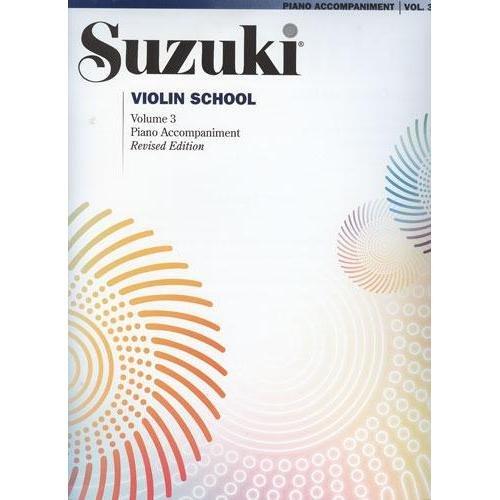 Violín Suzuki Piano School Acompañamiento Volumen 3