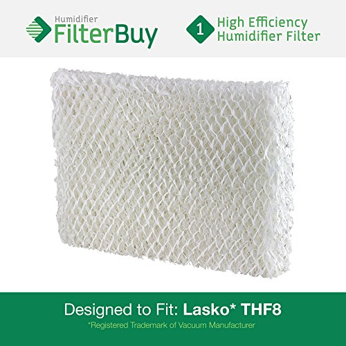 THF8 Lasko Humidifier Wick Filter. Fits Lasko Natural Cascade humidifier model #'s 1128, 1129, & 9930. Designed by AFB in the USA. - 1