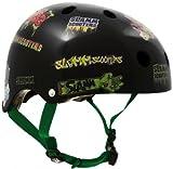 Slamm Skate / Scooter Helmet Stickers BMX, inline skating, longboard helmet - protective gear skateboard helmet, piratenshop24.de grösse:L-XL