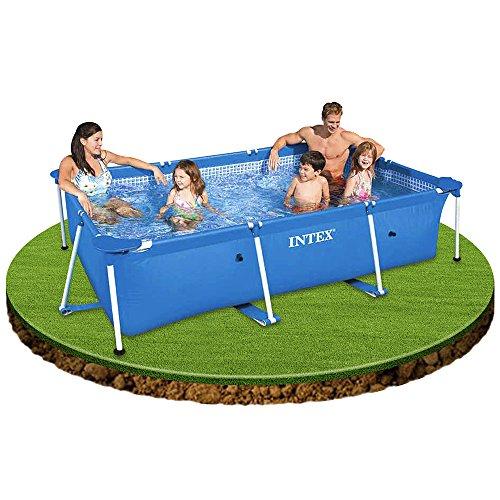 Mac due intex 28270 piscina rettangolare piscine for Intex piscine accessori