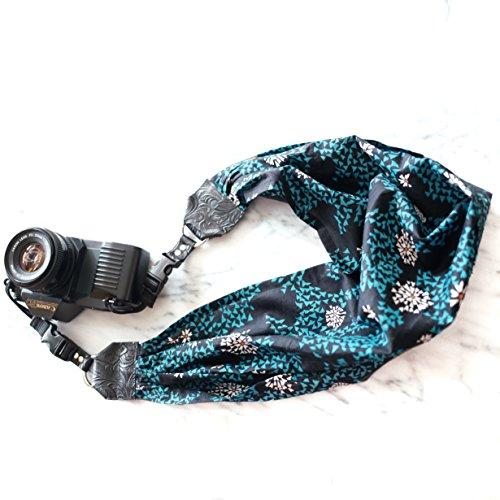 Mimi Green 'Blue Algae' Scarf DSLR Camera Strap