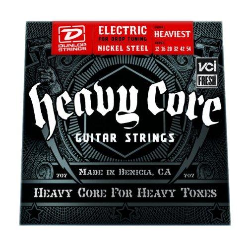 Dunlop Heavy Core Electric Guitar Strings - Heaviest