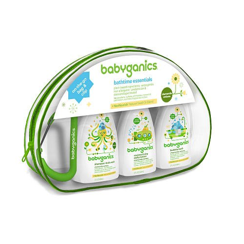 Babyganics Bathtime Essentials Gift Set Daily Bath
