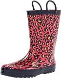 Western Chief Bright Leopard Rain Boot (Toddler/Little Kid)