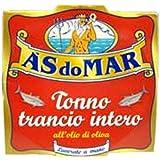 A's Do Mar Tonno Trancio Intero Tuna Packed in Olive Oil (200GRAMS)