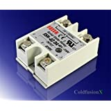 Lightobject ESSR-40DAC Solid State Relay, DC In AC Out, 40 amp