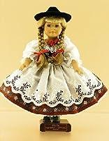 Bavarian Girl German Porcelain Doll from Walter Schneider