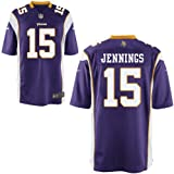 Nike NFL Minnesota Vikings Greg Jennings #15 Kids Game Day Jersey