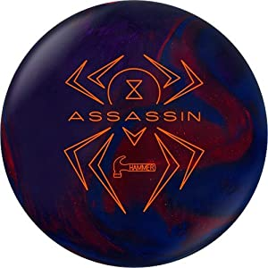 Click here to buy Hammer Black Widow Assassin Bowling Ball by Hammer Bowling Products.