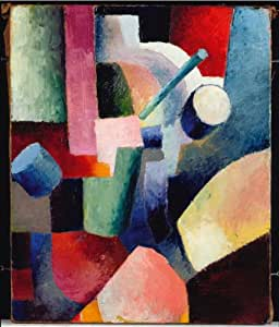 Composition Of 4 Kitchen Utensils : Amazon.com: Classic Art Poster - Colored Composition of Forms 1914 by ...
