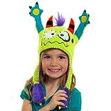 Flipeez Peek-a-Boo Monster Action Hat