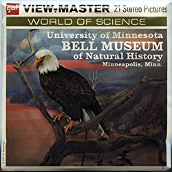 Bell Museum of Natural History, Minneapolis, Minn - 3 ViewMaster Reels 3D - Unsold store stock - never opened