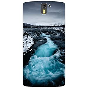 Oneplus One A0001 Back Cover - Blue Water Designer Cases