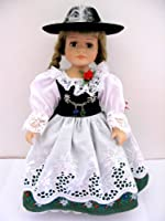 "Schneider Folklore Collection Handmade in Germany 13"" Porcelain Collectible Doll BAVARIAN by Schneider"