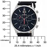Edox Men's 10010 3N NIN Les Vauberts Date Chronograph Watch