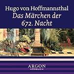 Das Maerchen der 672. Nacht | Hugo von Hofmannsthal