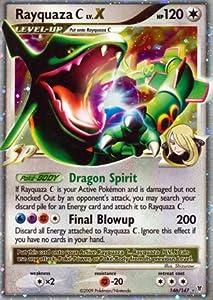 Pokemon Platinum Supreme Victors Single Card Rayquaza C Lv. X #146 Ultra Rare...