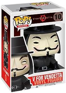 Funko - Figurine Head V for Vendetta Pop 10 cm - 0830395025780