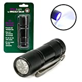 Pet Urine Detector - Ultraviolet Blacklight Flashlight By Ultra Light - Discover Dog And Cat Stains