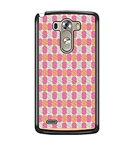PrintDhaba Pattern D-1954 Back Case Cover for LG G3 (Multi-Coloured)