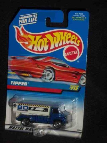 #712 Tipper Red Card Collectible Collector Car Mattel Hot Wheels
