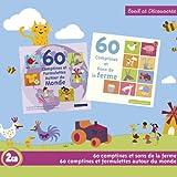 60 Comptines Et Sons De La Ferme / 60 Comptines Et Formulettes Autour Du Monde (Coffret 2 CD)