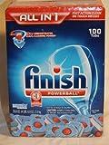 Finish Powerball Tablet Dishwasher Detergent, 110 ct, 78 oz