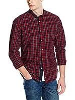 Marc O'Polo Camisa Hombre (Rojo Oscuro)